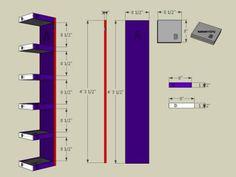 How to Make Shoe Storage Display Shelves - Workshops. How To Make Shoe Storage, Shoe Storage Display, How To Make Shoes, Display Shelves, Casa Top, Diy Wooden Projects, Ikea Shelves, Floating Shelves, Home Room Design