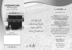 Undangan Haji Cdr Download Desain Template Grafis
