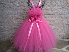 Tutu Dress, PINK BEAUTY, Bit of Fluff Stretch Bodice, 3 Months to 3 Years, First Birthday, Easter, Parties, Weddings, Gifts, Photo Shoots on Etsy, $63.00
