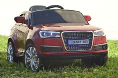New Exclusive Audi Q7 12V Battery Powered Ride On Car For Kids With LED Wheels and Remote Control | Red