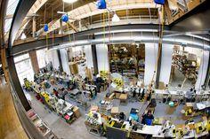 Timbuk2 sewing operation in San Francisco