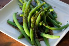 Green Beans with Balsamic Browned Butter Recipe