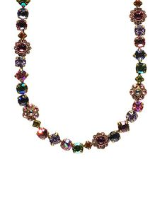 Classic Crystal Floral Necklace in Coneflower by Sorrelli - $167.50 (http://www.sorrelli.com/products/NBE2AGCF)
