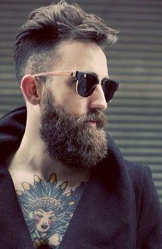 Barba e tatoo