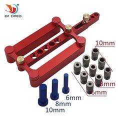 6 мм 8 мм 10 мм самоцентровкой Дюбеля Линь джиг Set metric Дюбеля бурения Ручные Инструменты Набор Мощность деревообрабатывающий инструмент