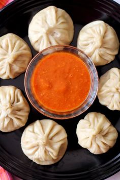 momos chutney recipe, an authentic, spicy red chilli chutney made with chilis & tomato that's served with momos. How to make momos chutney or dipping sauce