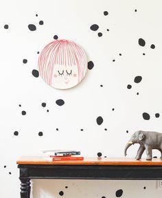 Wandtattoos - Pippi´s Pony - ein Designerstück von wasfuermich bei DaWanda