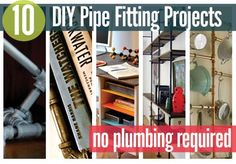10 Diy Pipe Fitting Projects