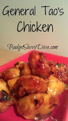 General Taos Chicken (GF if use GF Soy Sauce)