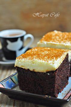 kremalı kakaoulu kek