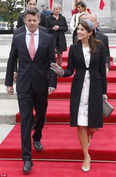 Crown Prince Frederik and Princess Mary of Denmark