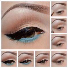 Colors Of The Wind by Jessica B. Click the pic to see the products she used. #eyemakeup #bestofbeauty #staffpicks