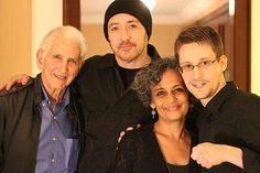 Meeting Ed Snowden | John Cusack, Arundhati Roy | Nov 09,2015
