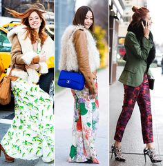 Floral prints   http://cocokelley.blogspot.com/2012/03/get-look-geared-up-for-spring.html