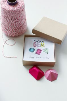 DIY: You're a Gem Magnets