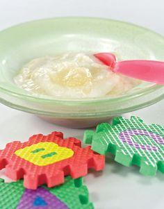 Peerpuree en ryspap Get Baby, Baby G, Toddler Meals, Toddler Food, Baby Food Recipes, Healthy Recipes, Breastfeeding, Breakfast, Desserts