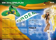 WM 2014 Spielplan - Seite1