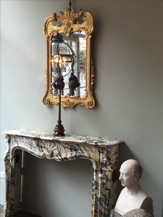 Eighteenth century reflections of our convex globe #lantern and a fine #taxidermy Marmoset