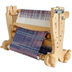 We offer several sizes of the Kromski Rigid Heddle Looms, as well as the reeds, bags,stand and shuttles to bling them out