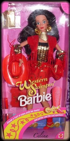 Western Stampin' Tara Lynn Barbie!    - I had this one as a little girl and considered her the most beautiful barbie doll ever