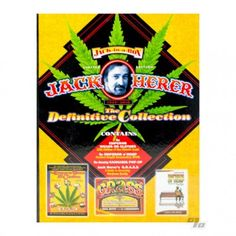 Jack-in-a-Box  Jack Herer: The Definitive Collection   This Deluxe, Limited Edition Boxed Set contains the books The Emperor Wears No Clothes, the classic book on why hemp should be legalized, and G.R.A.S.S., Jack's early guide to rating the quality of marijuana. Also included is The Emperor of Hemp on DVD, a feature-length movie about Jack narrated by Peter Coyote. Extra special bonus is the Amazing hemp pop-up art by Bruce Foster!  http://www.1percent.com/jack-herer-box-set.html