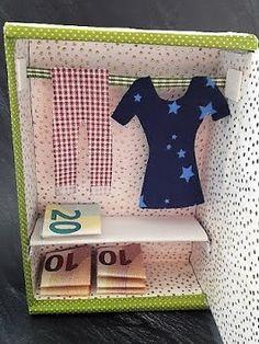Geldgeschenke fantasievoll verpacken - DIY