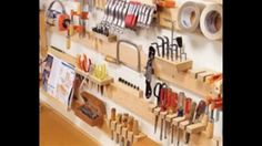 Wood Shop Organization Ideas - YouTube