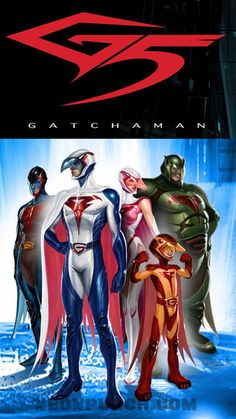 Battle of The Planets (USA) / Gatchaman (Japan)