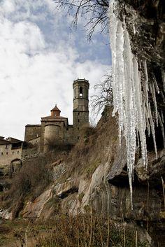 Mucho frio y heladas en Rupit......Catalunya