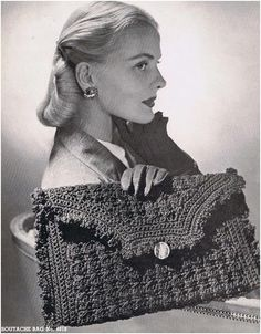 #2721 SMOOTH TOWN AND COUNTRY  VINTAGE CROCHET PATTERN