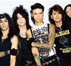 Saw Black Veil Brides in Southampton last night and they were epic.