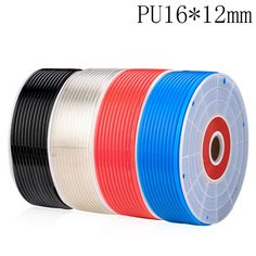 5 meter PU16*12mm Pneumatic Hose PU Tube OD 16mm ID 12mm Plastic Flexible Pipe Polyurethane Tubing #Affiliate