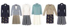 The skirt choices for Spring capsule wardrobe http://ht.ly/JdOZz