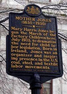 Mother Jones - Mary Harris Jones Labor Rights Advocate. Mary Harris Jones, Labor Union, Religion And Politics, Mother Jones, United We Stand, Women In History, Famous Women, Labor Rights, Women's Rights