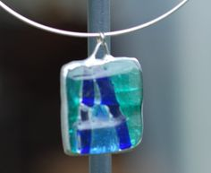 Shop for on Etsy, the place to express your creativity through the buying and selling of handmade and vintage goods. Glass Pendants, Spotlight, Repurposed, Design Art, Christmas Ornaments, Holiday Decor, Unique Jewelry, Handmade Gifts, Etsy
