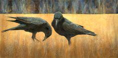 Claire Duncan, Black Bird: Dark Interlude, Acrylic, x 20 Crow Art, Raven Art, 4 And 20 Blackbirds, Rabbit Sculpture, Jackdaw, Crows Ravens, Bird Drawings, Art Images, Art Photography