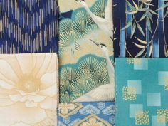 Robert Kaufman Imperial Collection Indigo Fat Quarter - Blue