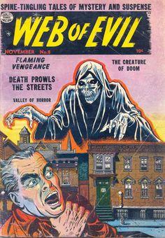 Comic Book Cover For Web of Evil v1 #8
