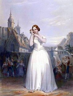 Opera comes to Chicago-1850...Jenny Lind in 'La Sonnambula'--she stayed in New York (Wikipedia)