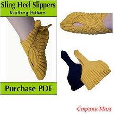TRICO y CROCHET-madona-mía: Zapatillas de señoras modelo japones en tricot ( dos agujas) paso a paso en fotografía
