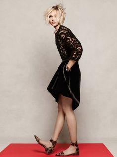 Sasha Pivovarova - Vogue Magazine Pictorial [South Korea] (December 2014)