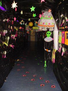"""El túnel del espacio (Proyecto """"El Espacio"""" en 5 años)"""