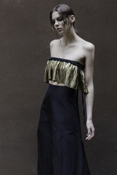 "Adriana Morandi. ""Hole"" SS16  Photo Thomas Carlá-Stylist Giulia Sanna-Model Sophie-Pop- mua F Smeraldi"