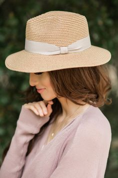 Hats for Women, Perfect Hats for Spring, Spring Wardrobe Essentials, Straw Fedoras for Women