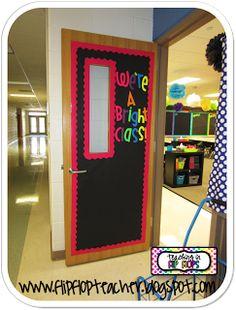 Teaching in Flip Flops..neon. Cute!