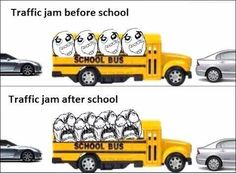Funny Memes about School Bus