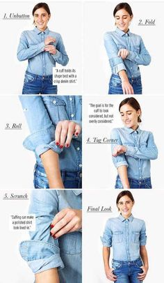 Interesting diagrams on everyday questions about clothing