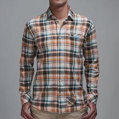 Washington Plaid Shirt Orange now featured on Fab.