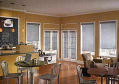 Roller Window Shades At Luxury Window Fashions Store
