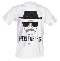 Breaking Bad - Heisenberg Herren T-Shirt - Weiß - Größe Small